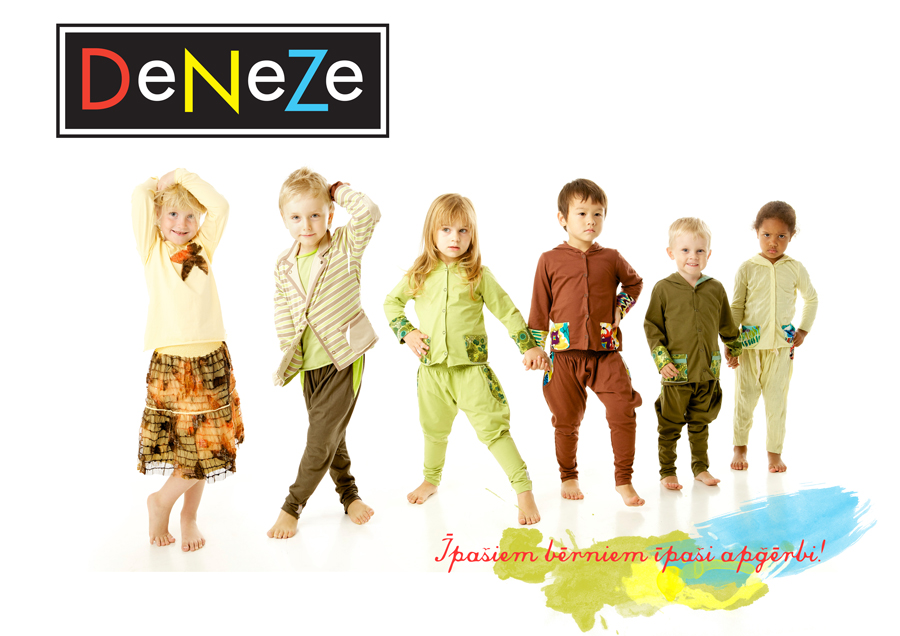 Photographer Ilze Kalnina . Kids Fashion . Deneze